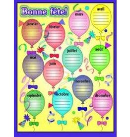French Poster - bonne fete