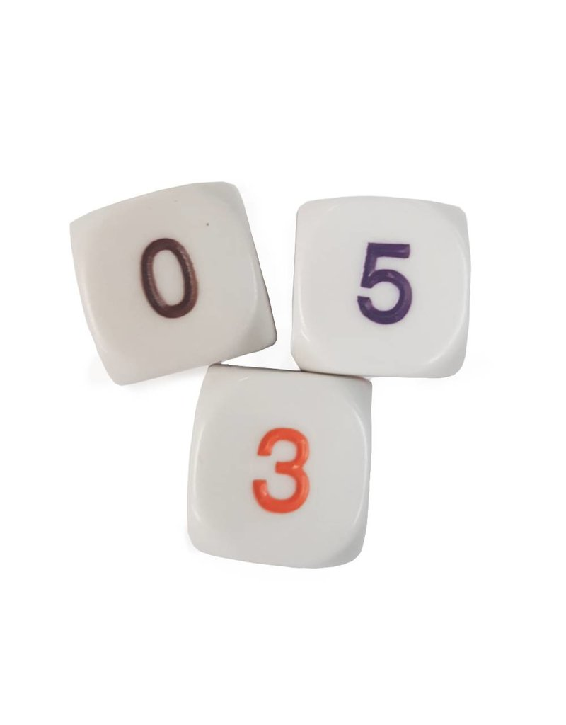 6 sided 0-5 dice