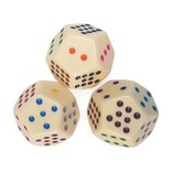 12-sided spotted dice