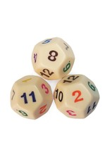 12 sided large demo dice