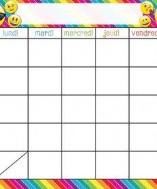 French Emoji - Calendar
