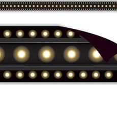 Marquee Black Magnetic Border