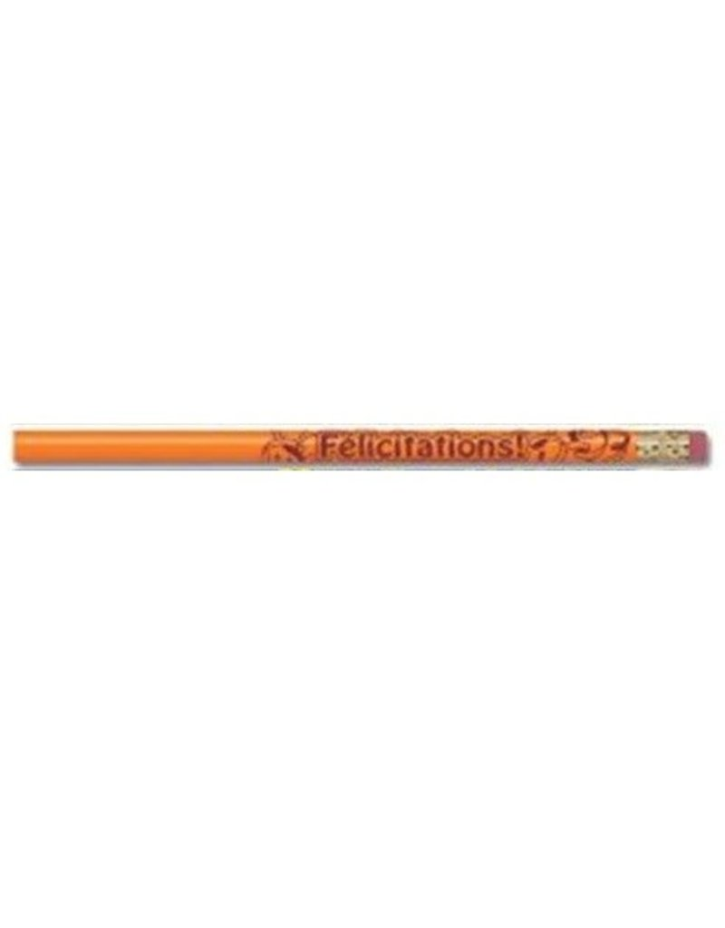 French pencil - Felicitations