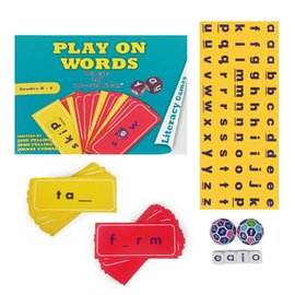 Play on Words (Book, cards, dice)