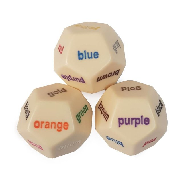 Color Word Dice