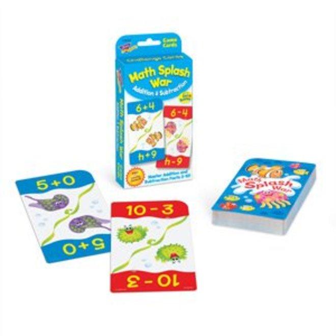 Math Splash War Addition & Subtraction