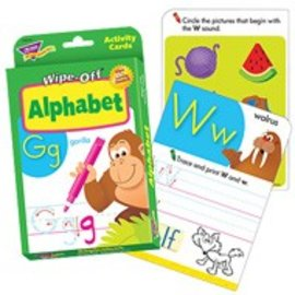 Alphabet Wipe Off Cards