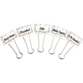 Confetti Large Binder Clips