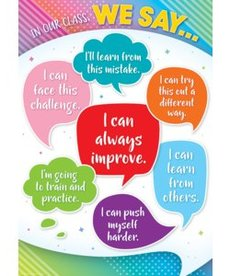In Our Class, We Say...-Poster