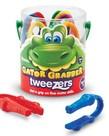 Learning Resources Gator Grabber Tweezers, Set of 12