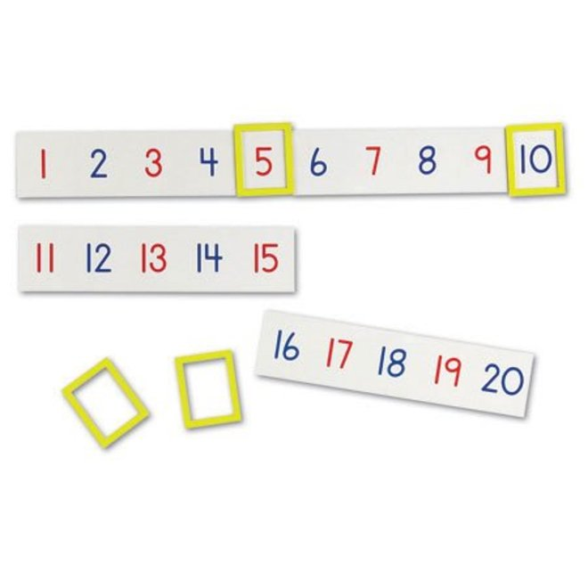 Learning Resources 1-100 Magnetic Number Line