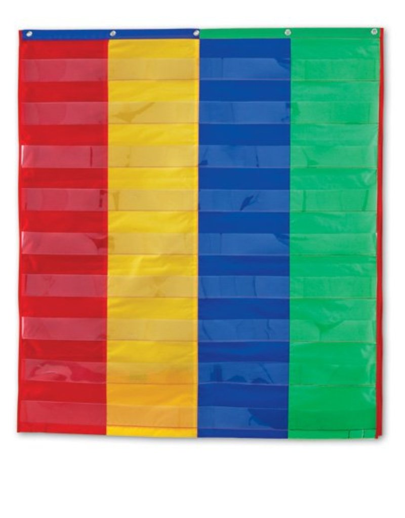 Learning Resources 2- & 4-Column Double-Sided Pocket Chart