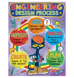 Pete the Cat Engineering Design Poster