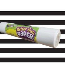 Better Than Paper- Black & White Stripes