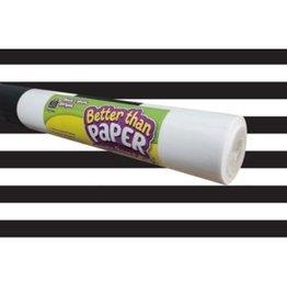 Better Than Paper Black & White Stripes