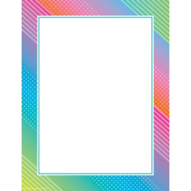 Colorful Vibe Colorful Vibes Computer Paper
