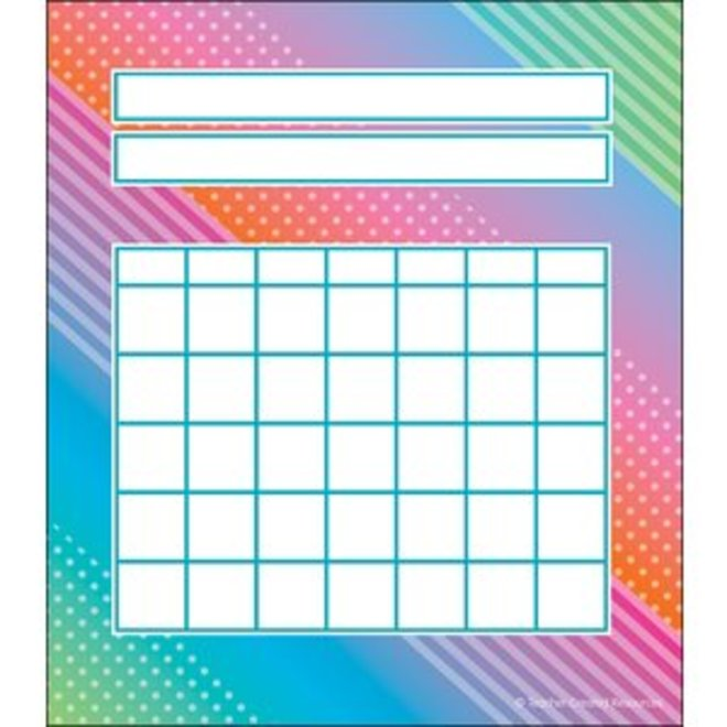 Colorful Vibe Incentive Charts