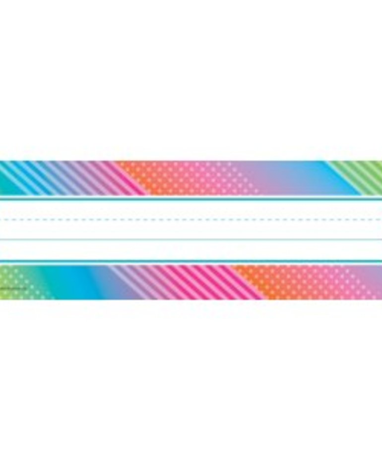 Colorful Vibes Name Plates