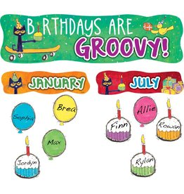 Pete the Cat Birthdays are Groovy-Mini Bulletin