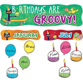 Pete the Cat Birthdays are Groovy-Mini Bulletin
