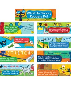 Pete the Cat Reading Strategies Mini Bulletin Board