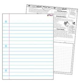 Notebook Paper 17 x 22 Wipe Off