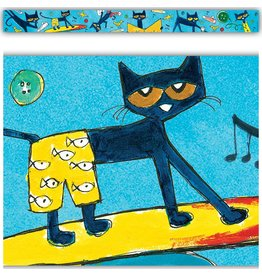 Pete the Cat Border Trim (blue)