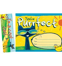 Pete the Cat You're Purrfect Bookmark & Award
