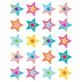Colorful Vibe Stars Stickers