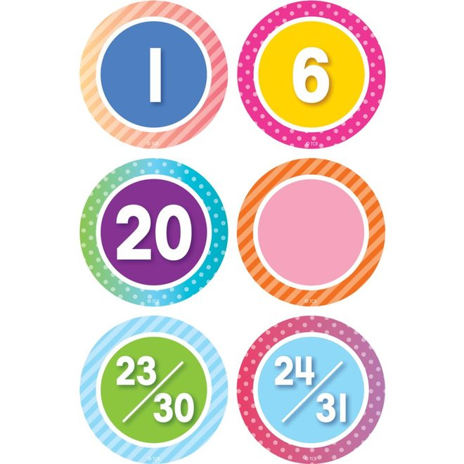 Colorful Vibe  Calendar Days
