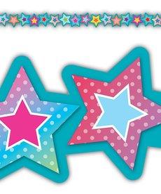 Stars Die-Cut Stars Border