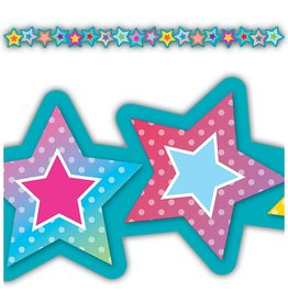Colorful Vibe Colorful Vibes Stars Die-Cut Stars Border