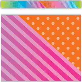 Colorful Vibe Straight Border