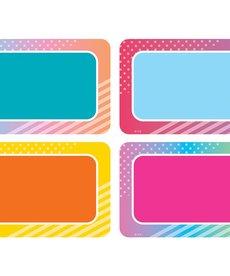 Colorful Vibes Nametags