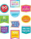 Colorful Vibes Positive Accents