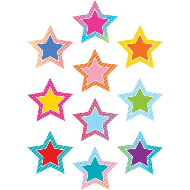 Colorful Vibe Colorful Vibes Stars Accents
