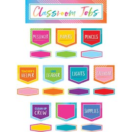 Colorful Vibe Colorful Vibes Classroom Jobs Mini Bulletin Board