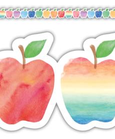 Apples Die-Cut Border Trim