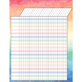 Watercolor Incentive Chart