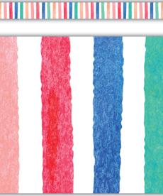 Stripes Straight Border Trim