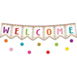 Confetti Welcome Bulletin Board Display