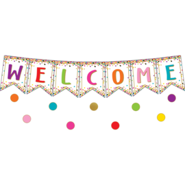 Confetti Welcome Bulletin Board Display