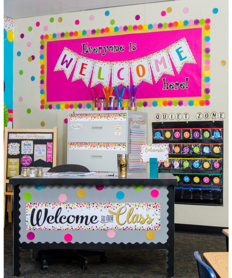 Welcome Bulletin Board Display