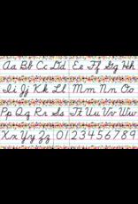 Confetti Cursive Alphabet Bulletin Board