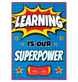 Superhero Learning is Our Superpower-Poster