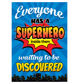Superhero Everyone Has Superhero Inside Them...poster