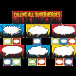 Superhero Calling All Superheros Mini Bulletin Board Set