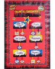 Calling All Superheros Mini Bulletin Board Set