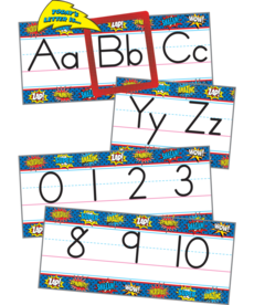 Alphabet Line Bulletin Board Set