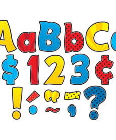 "Funtastic 4"" Letters Combo Pack"